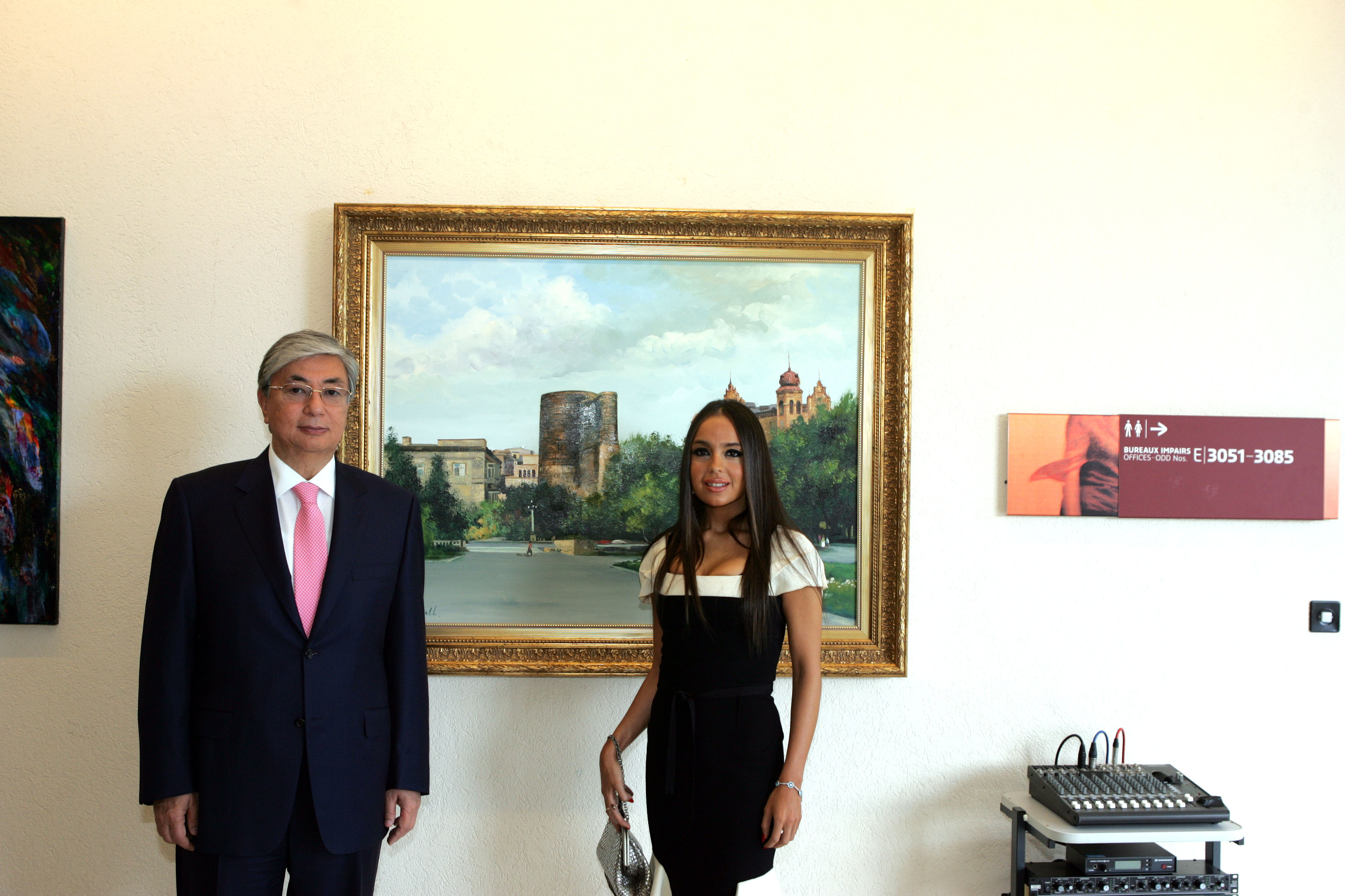 Vice president of the heydar aliyev foundation initiator of the